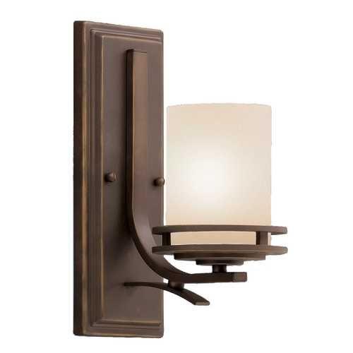 Kichler Umber Glass Sconce | 5076OZ | Destination Lighting ...