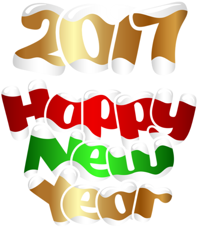 Gallery Yopriceville 2017 Happy New Year Transparent Png Clip Art Image