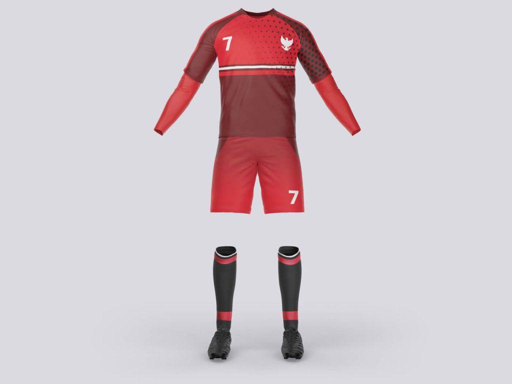 Download Soccer Costume Free Mockups Vectogravic Design Free Mockup Jersey Design Mockup