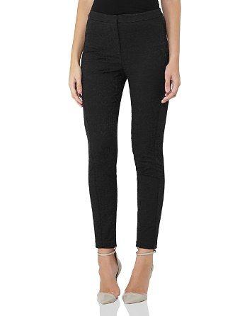 $REISS Darla Jacquard Skinny Pants - Bloomingdale's