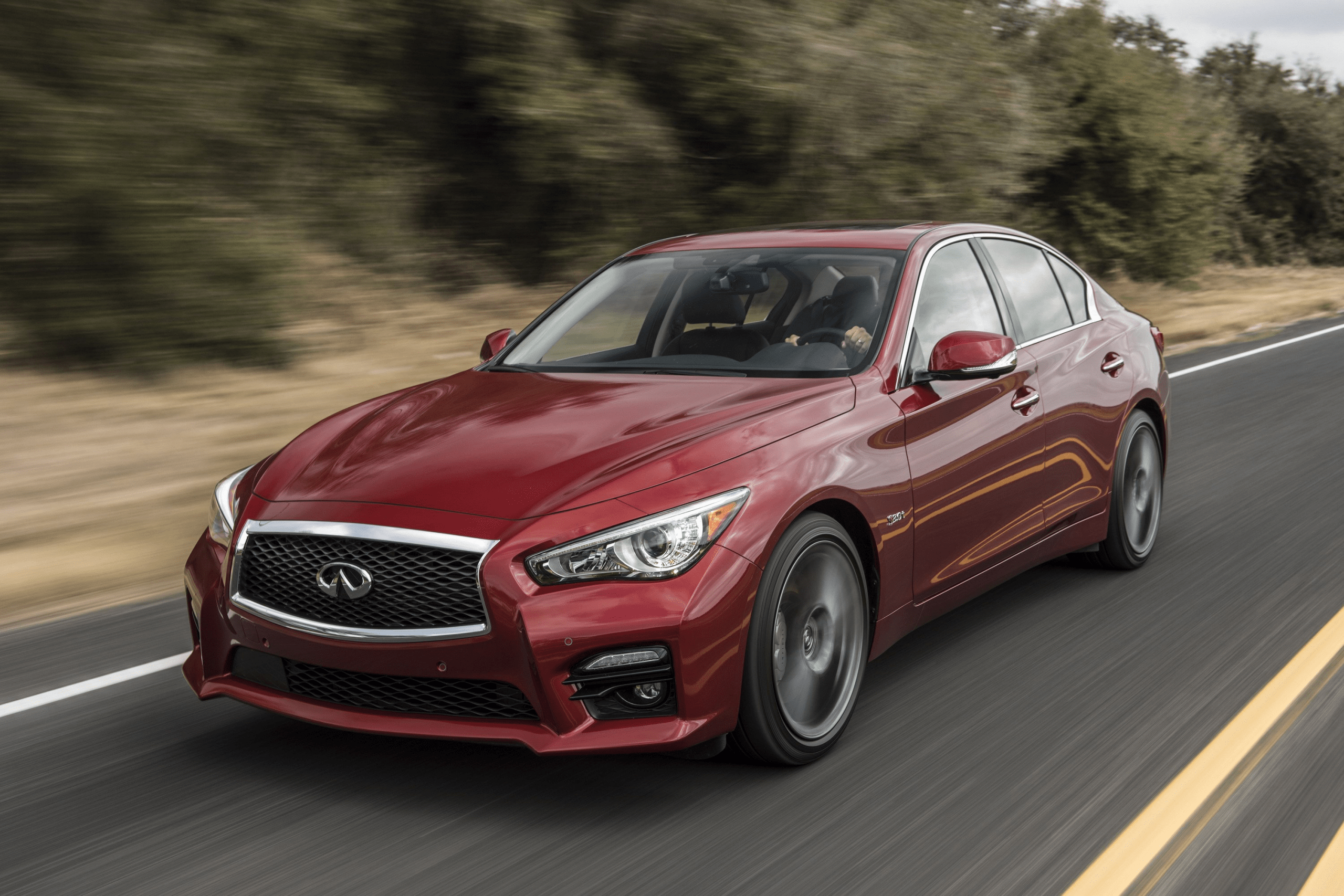 2021 Infiniti Q50 Coupe Eau Rouge Speed Test
