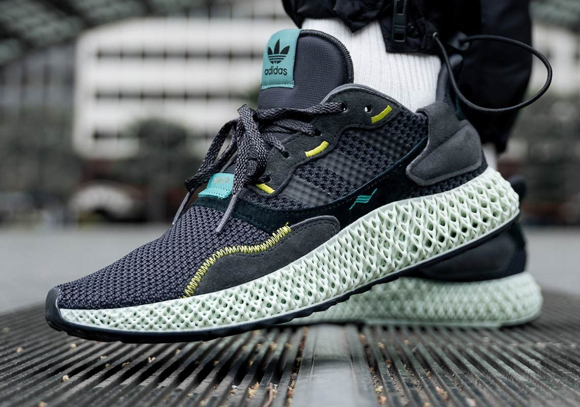 adidas ZX4000 4D Carbon Release Date + Info | Zapatillas ...