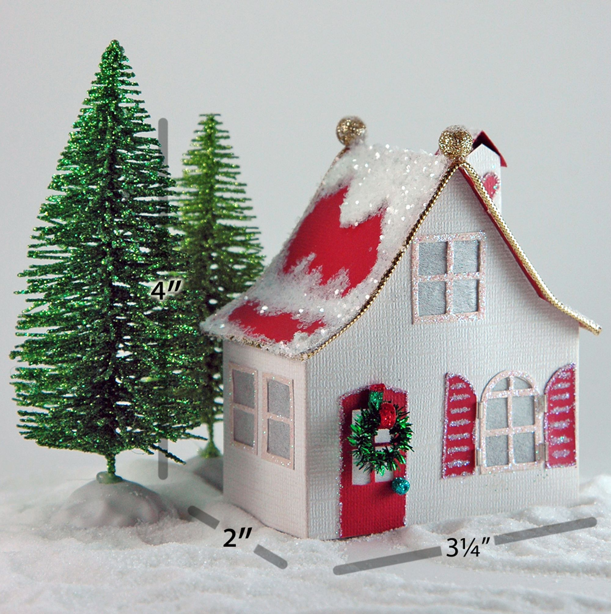 Carlie is a simple little Christmas village house where Tim & Sally ...