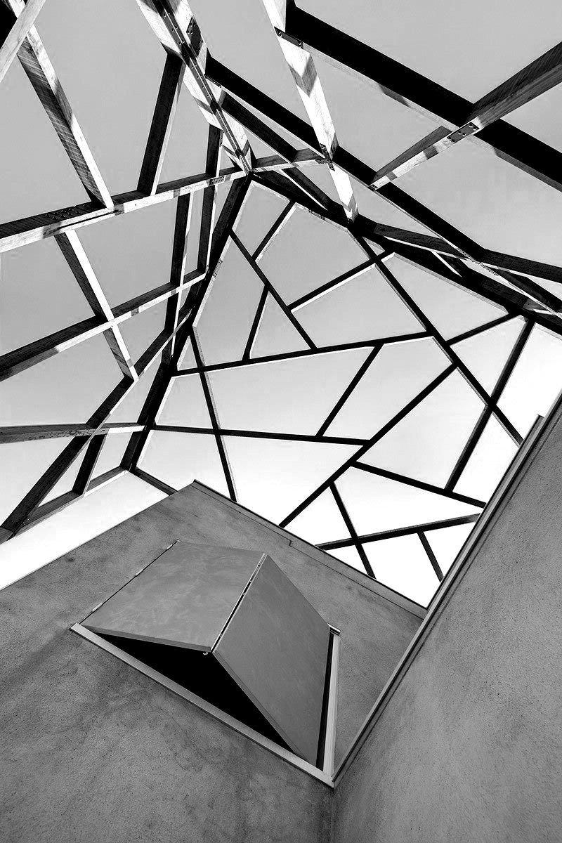 Best 25 geometry architecture ideas on pinterest pink for Architecture post moderne