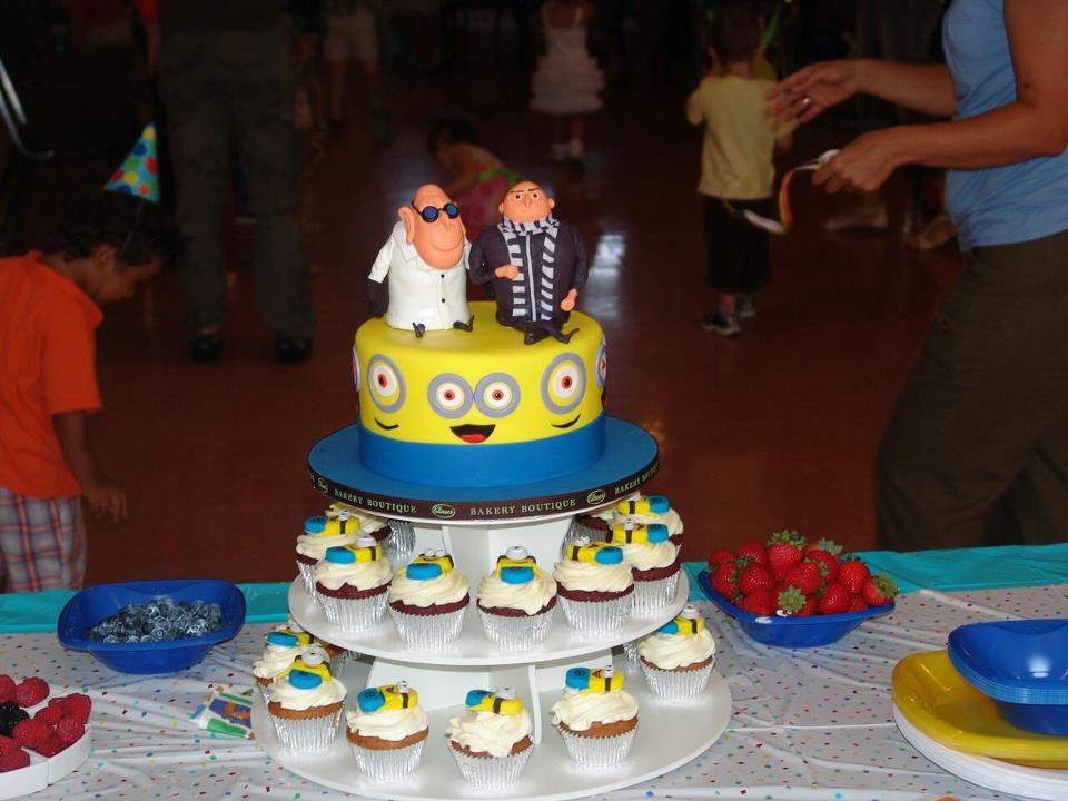 Fabulous Despicable Me 2 Movie Cakes Photos Despicable Me Theme Cake Funny Birthday Cards Online Bapapcheapnameinfo