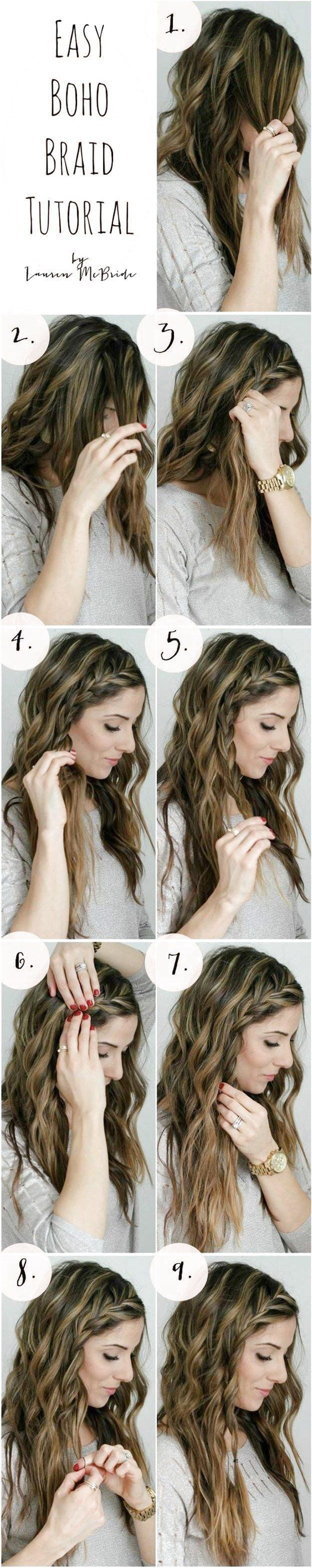 Absolutely beautiful braid tutorial #braids # upside down Braids tutorial