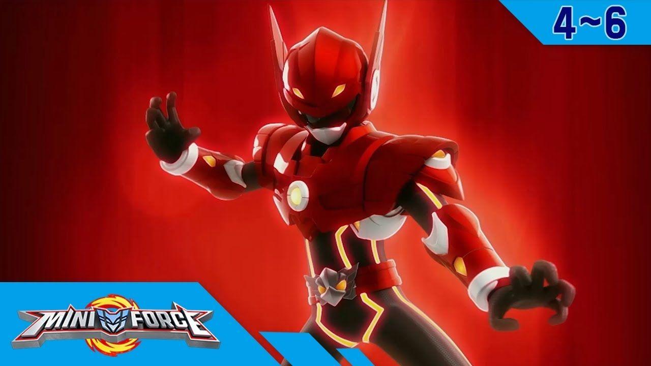 Miniforce Season 1 Ep 4 6 Youtube Miniforce En 2019