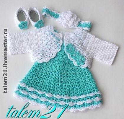 Patroon Idee Jurkje Met Bolero Vestidos Para Bebés