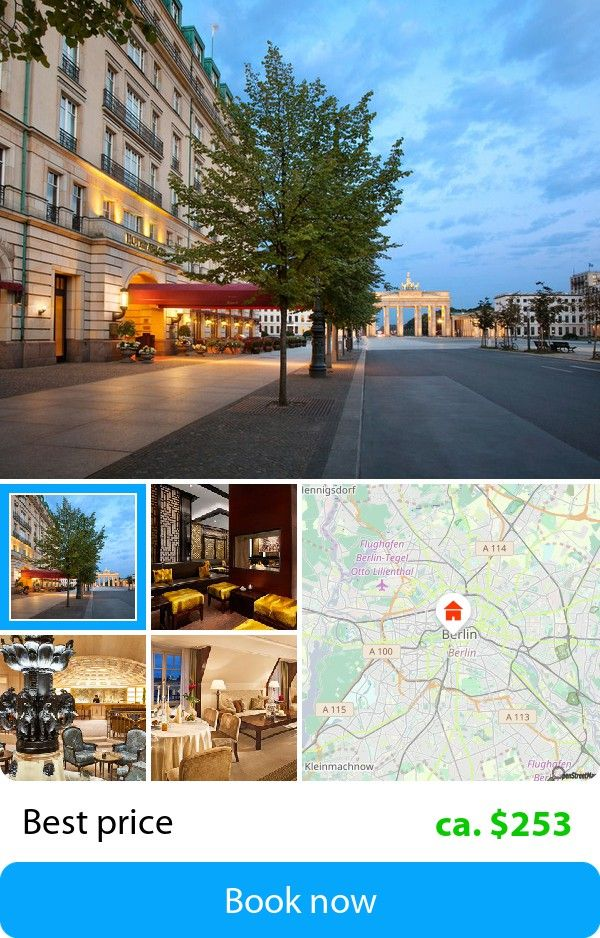 Adlon Kempinski Berlin Germany Book This Hotel At The Est Price On Sefibo
