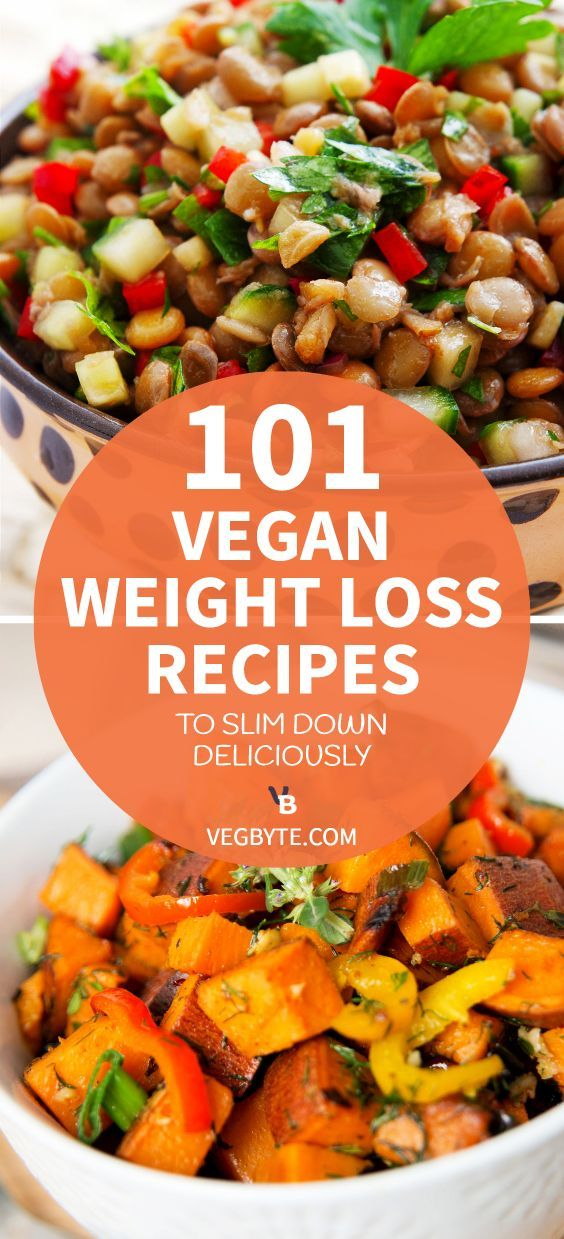 101 Vegan Weight Loss Recipes to Slim down Deliciously -