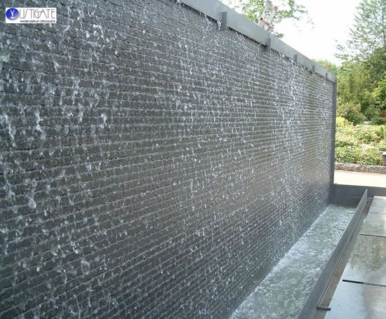 Hortus Conclossus Water Wall Originally For The Rhs