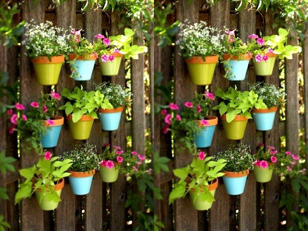 40 Creative Garden Container Ideas And Plant Pots Vertical