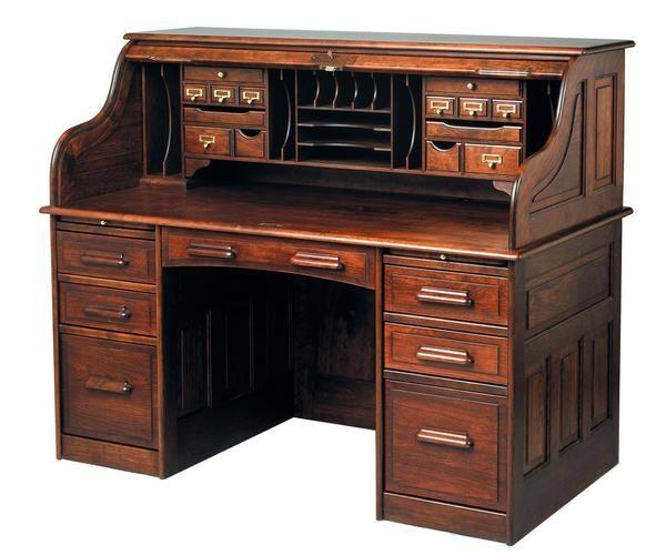 Already Have Foyer Rolltop Desk Roll Top Desk Desk Organization Diy Desk