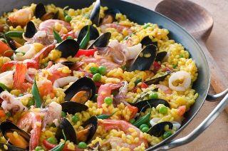 Paella Mixta Ingredientes Ajo Cerdo En Trozos Pollo En Trozos Aceite De Oliva Azafrán Arroz Sal Ce Paella Recipe Paella Recipe Seafood Seafood Paella