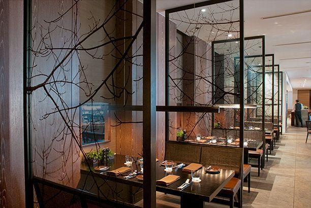 The Oak Door Grand Hyatt Tokyo Divider Design Booth Seating Room Divider