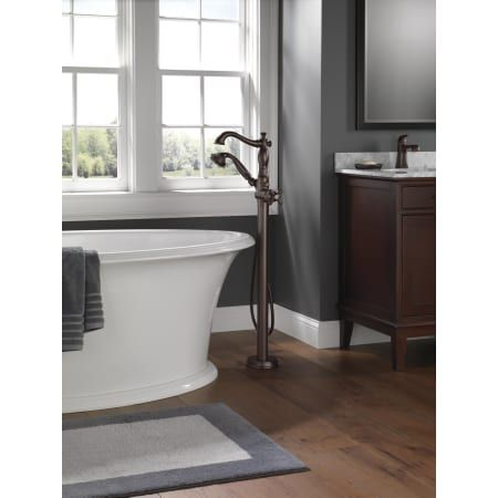 Delta T4797 Fl Lhp In 2020 Freestanding Tub Filler Tub