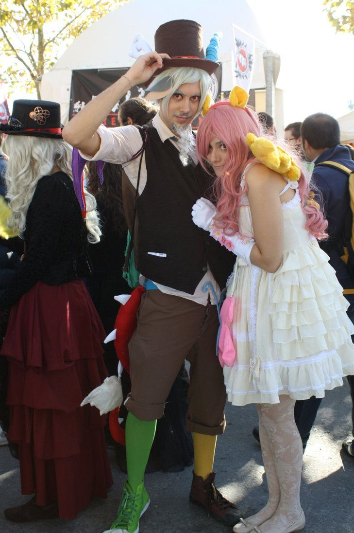 discord and fluttershy cosplaymaspez | halloween costumes