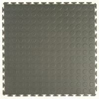 Blue Hawk 20 In X 20 In Gray Interlocking System Garage