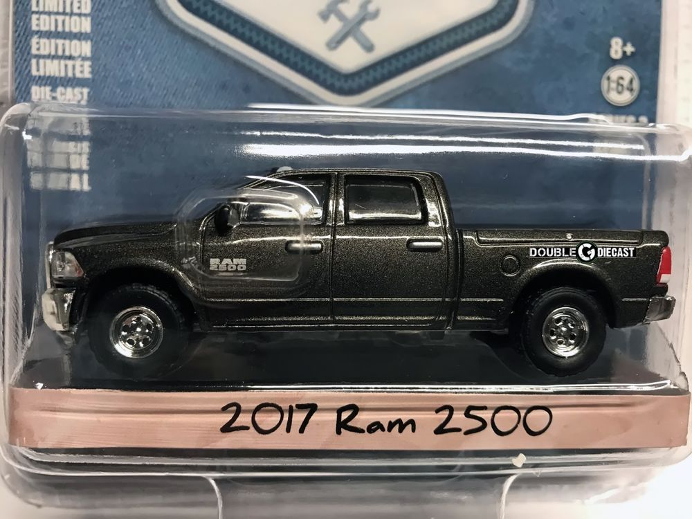 1 64 Greenlight Blue Collar Collection Series 3 2017 Ram 2500 Toy Car Diecast Cars Diecast