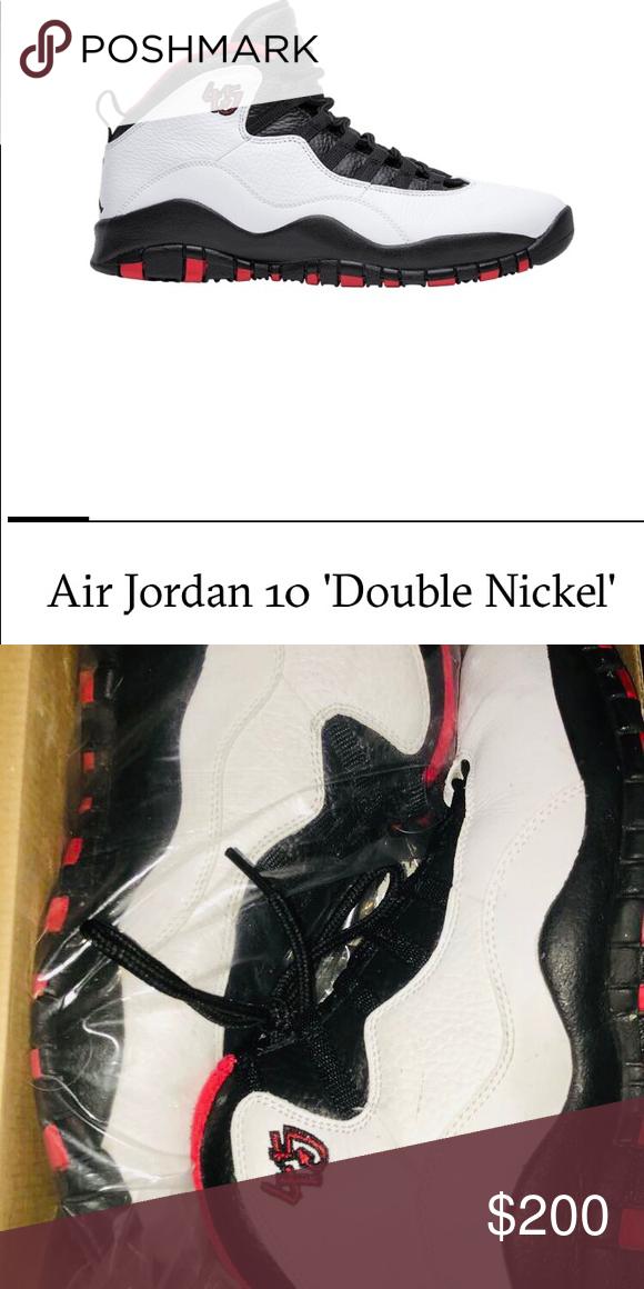 sale retailer 4c17c ee050 Nike Air Jordan 10 retro  Double Nickel  Men s size 9 Jordan 10 retro