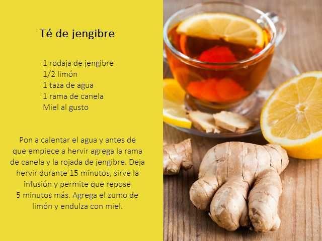 Para q sirve el jengibre con limon