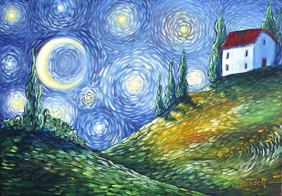 Prints now available --- Look to the Stars by Cherie Roe Dirksen
