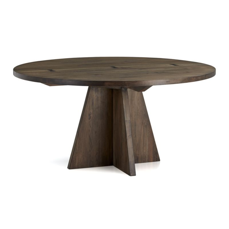 Monarch Shiitake 60 Quot Round Dining Table Furniture 60
