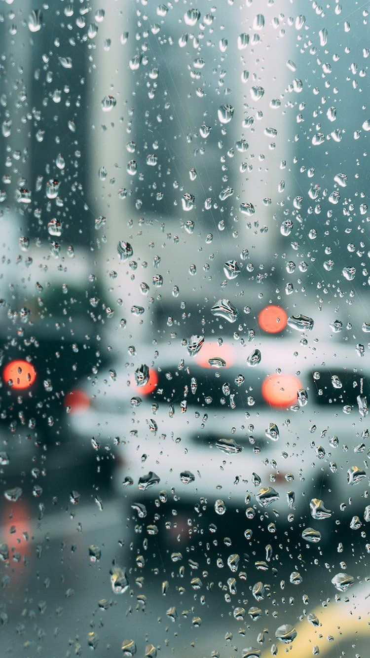 Photography Of Window View And Raindrops During A Raining Day