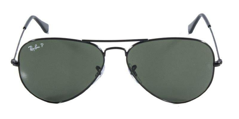 Óculo Ray ban polarizado preto Rb 3025 masculino-feminino Frete grátis para  todo o Brasil 87398285e4