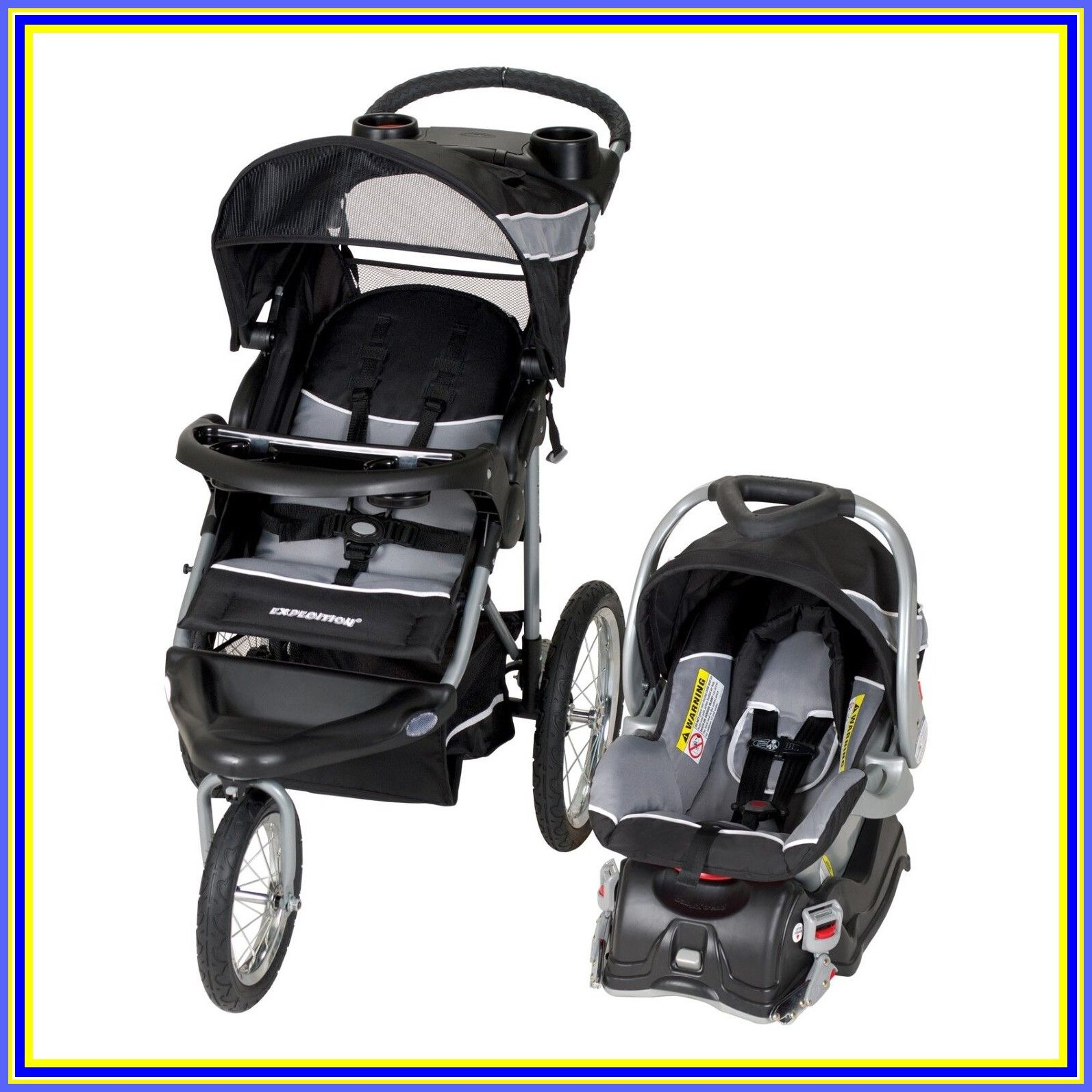 113 reference of expedition jogging stroller single in