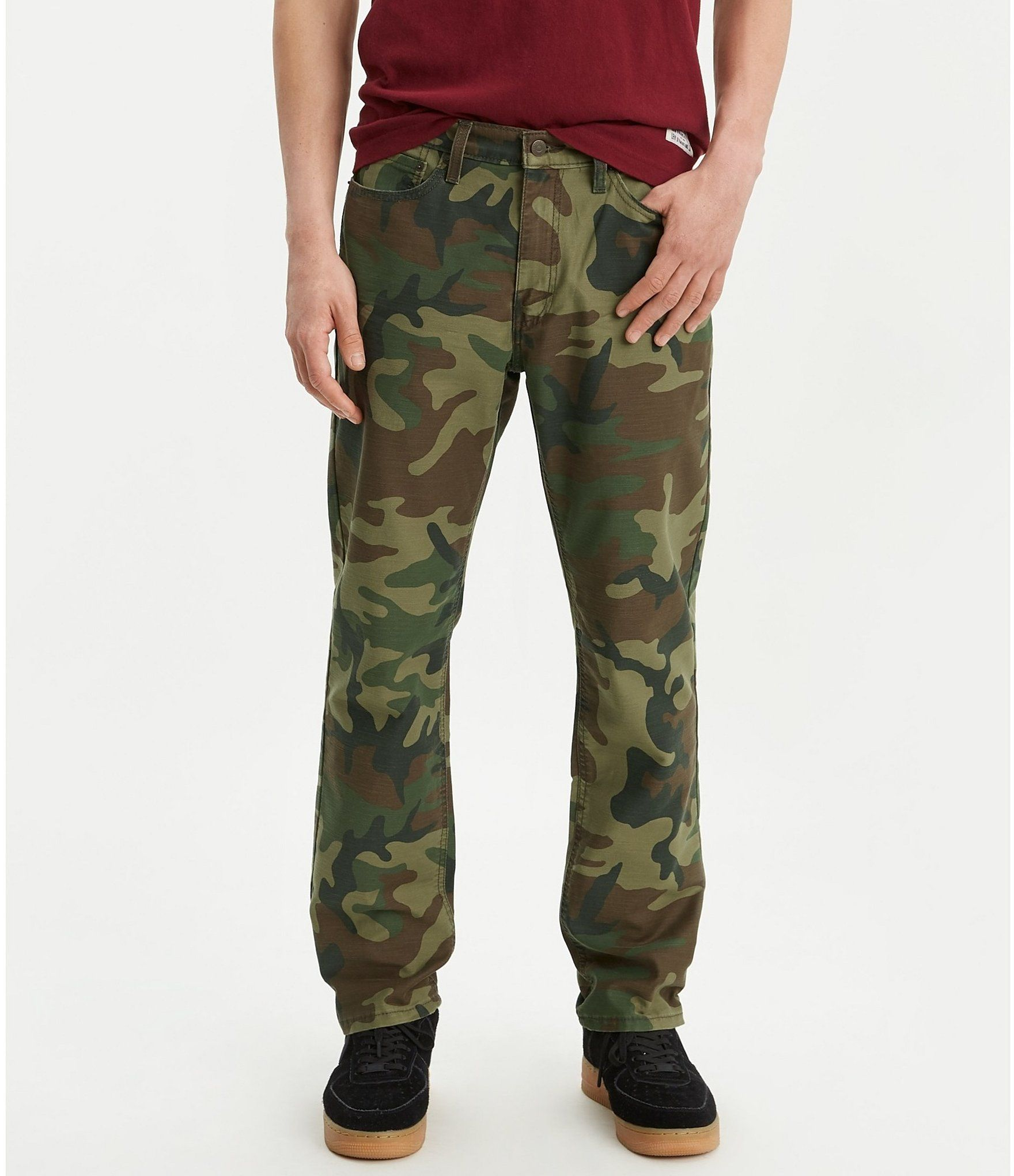 Levis big tall 541 athleticfit camo jeans 42 36 in