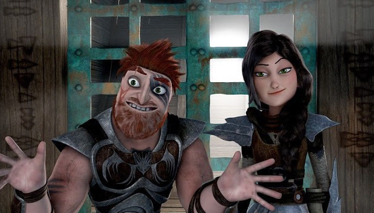 Race to the Edge - Dagur & Heather.. I say they don't look ...
