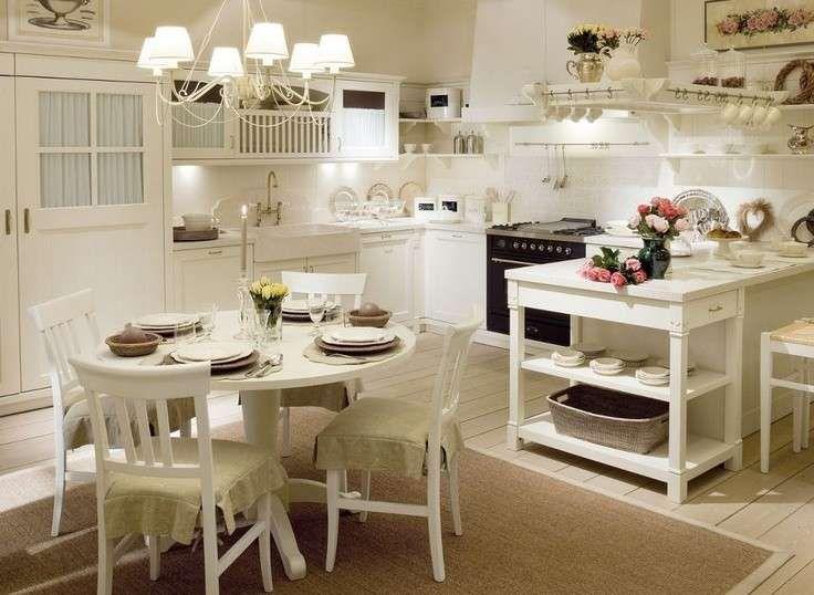 Arredamento casa al mare in stile provenzale - Cucina stile ...