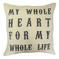 My Whole Heart Pillow