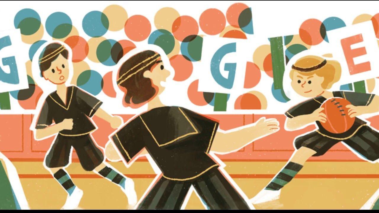 The Edmonton Grads Google Doodle in U.S and Canada