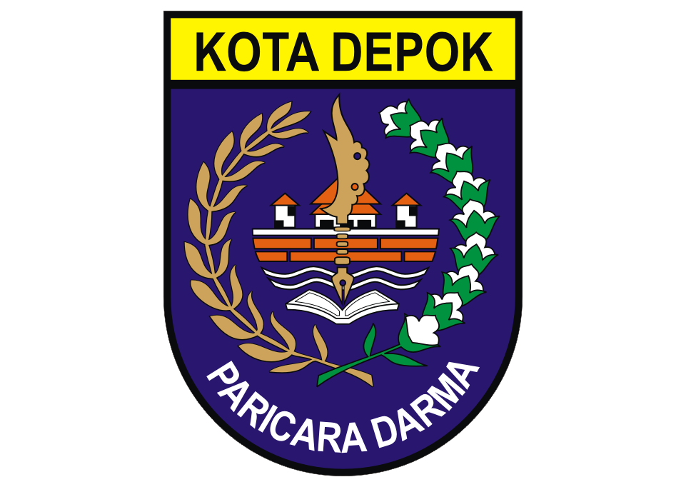 Logo Kota Depok Vector Logo keren, Adobe illustrator, Desain