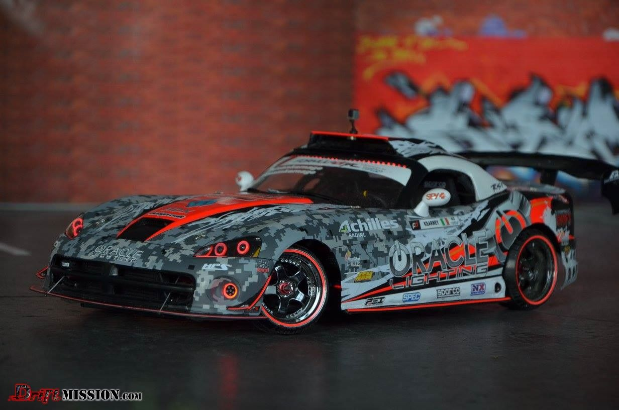 Driftmission May 2015 Rc Drift Body Of The Month Winner Dodge Viper Dean Kearney 6 Rc Drift Remote Control Boat Drifting