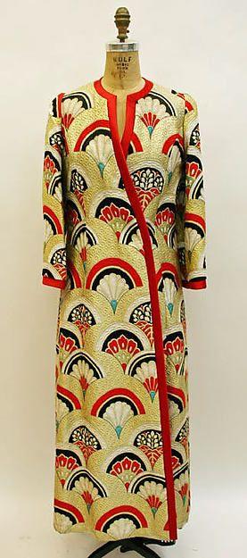 Evening ensemble Designer: Hanae Mori (Japanese, born 1926) Date: fall/winter 1974–75 Culture: Japanese Medium: silk Dimensions: [no dimensions available] Credit Line: Gift of Madame Hanae Mori, 1975 Accession Number: 1975.86.2a, b