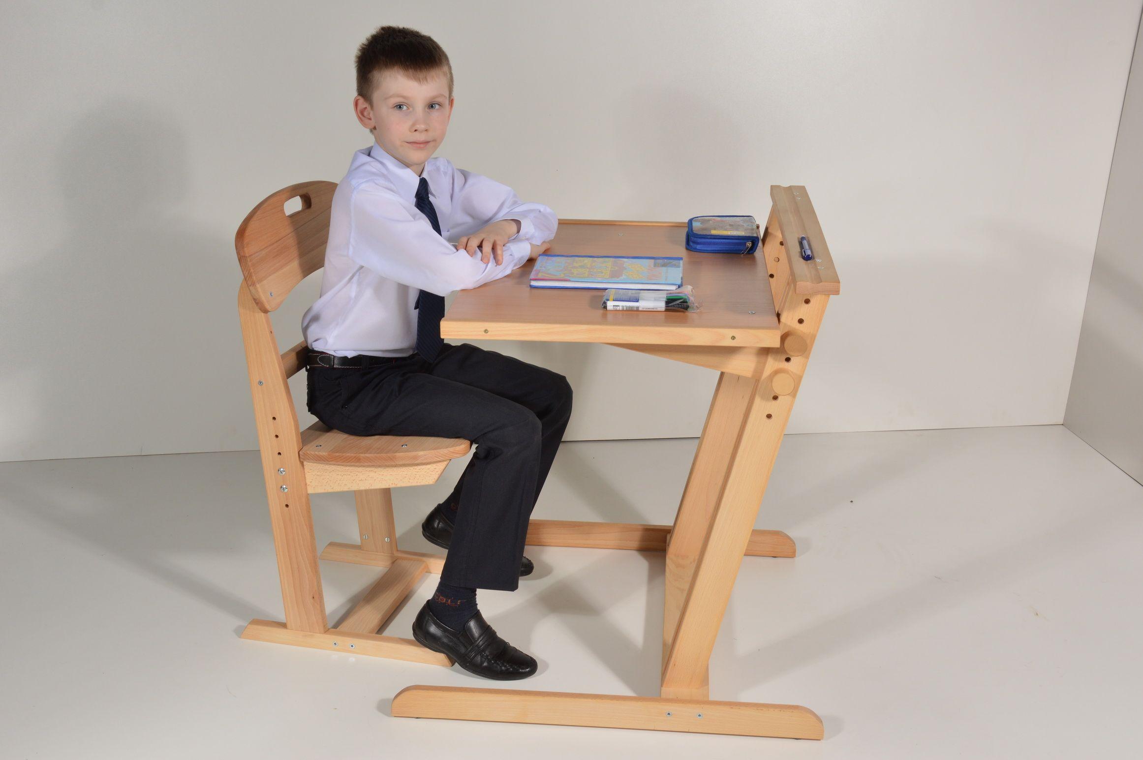 Стул парта (37 фото): детская школьная письменная мебель ...