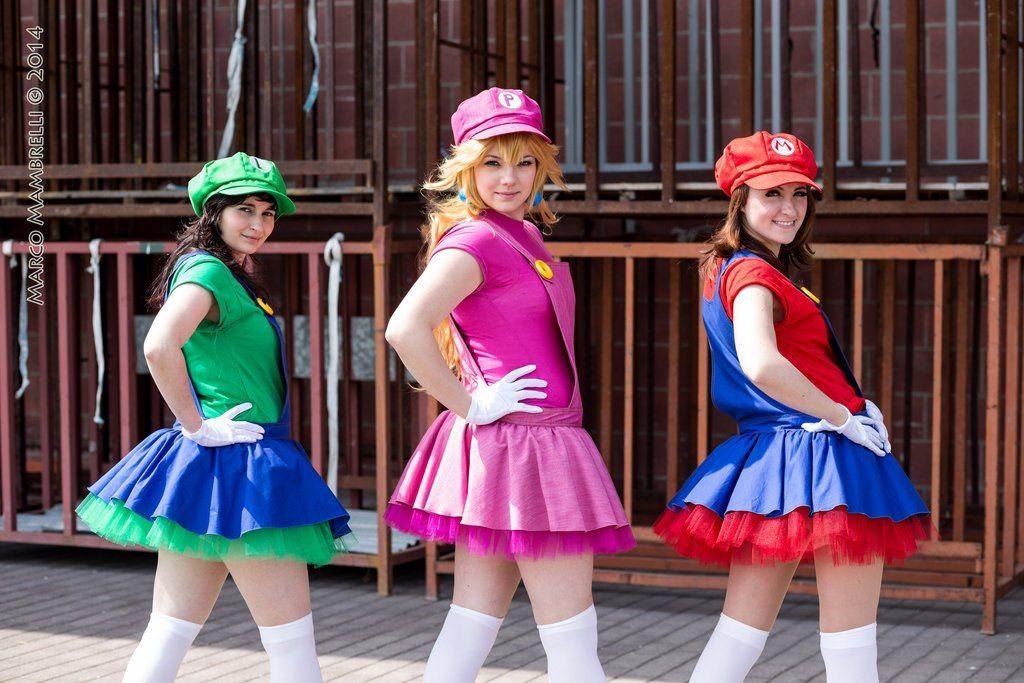 cosplay feminino mario princesa - Pesquisa Google Roupa Fantasia 8d9935c47a6