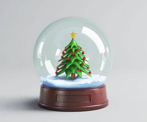Christmas Snow Globe 3d Model 3ds Max Autodesk Fbx Object Files Free Download Modeling 41444 On Cadnav Christmas Snow Globes Snow Globes Christmas Snow