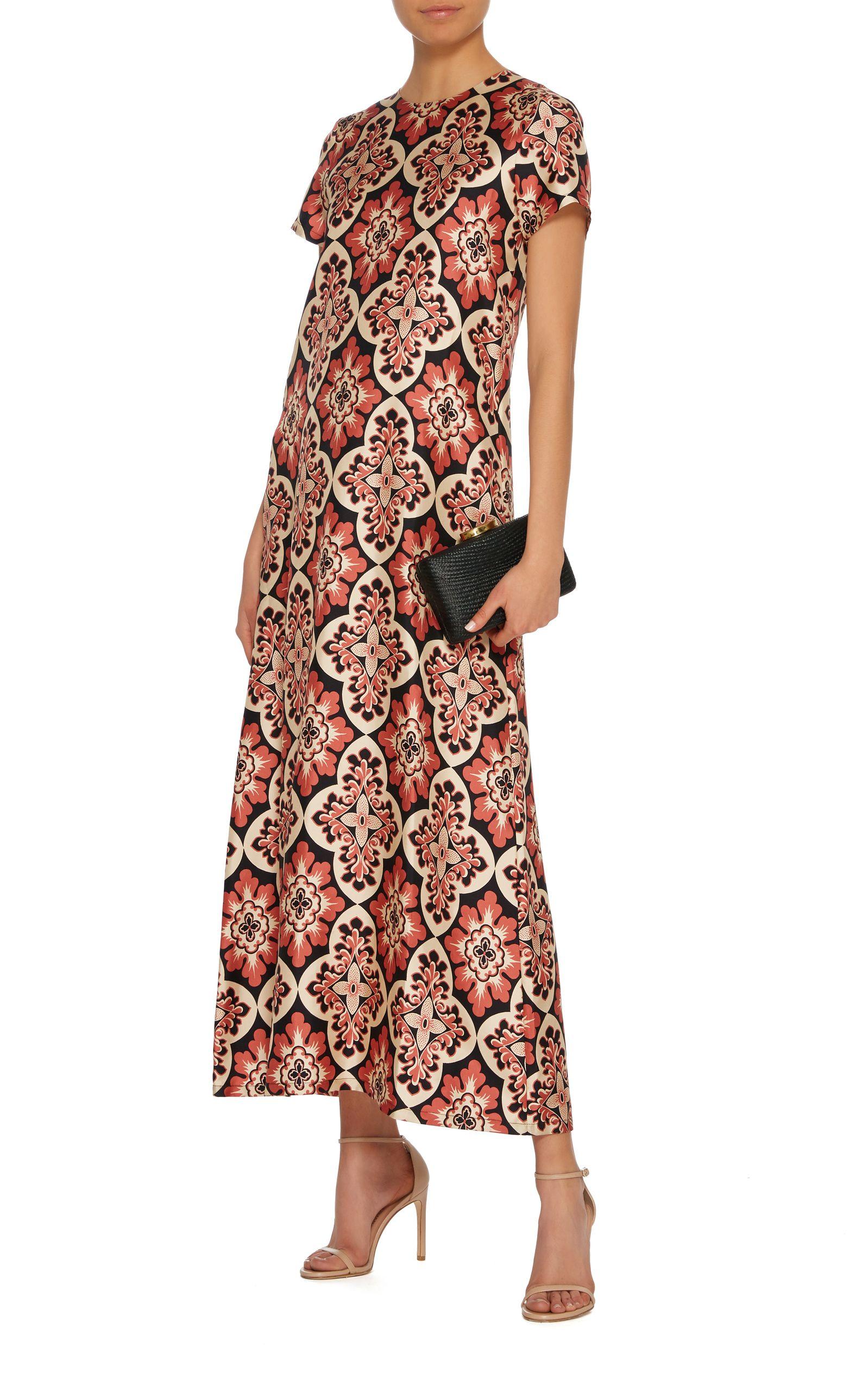 La Doublej Swing Silk Maxi Dress 620 Silk Maxi Dress Maxi Dress Dresses