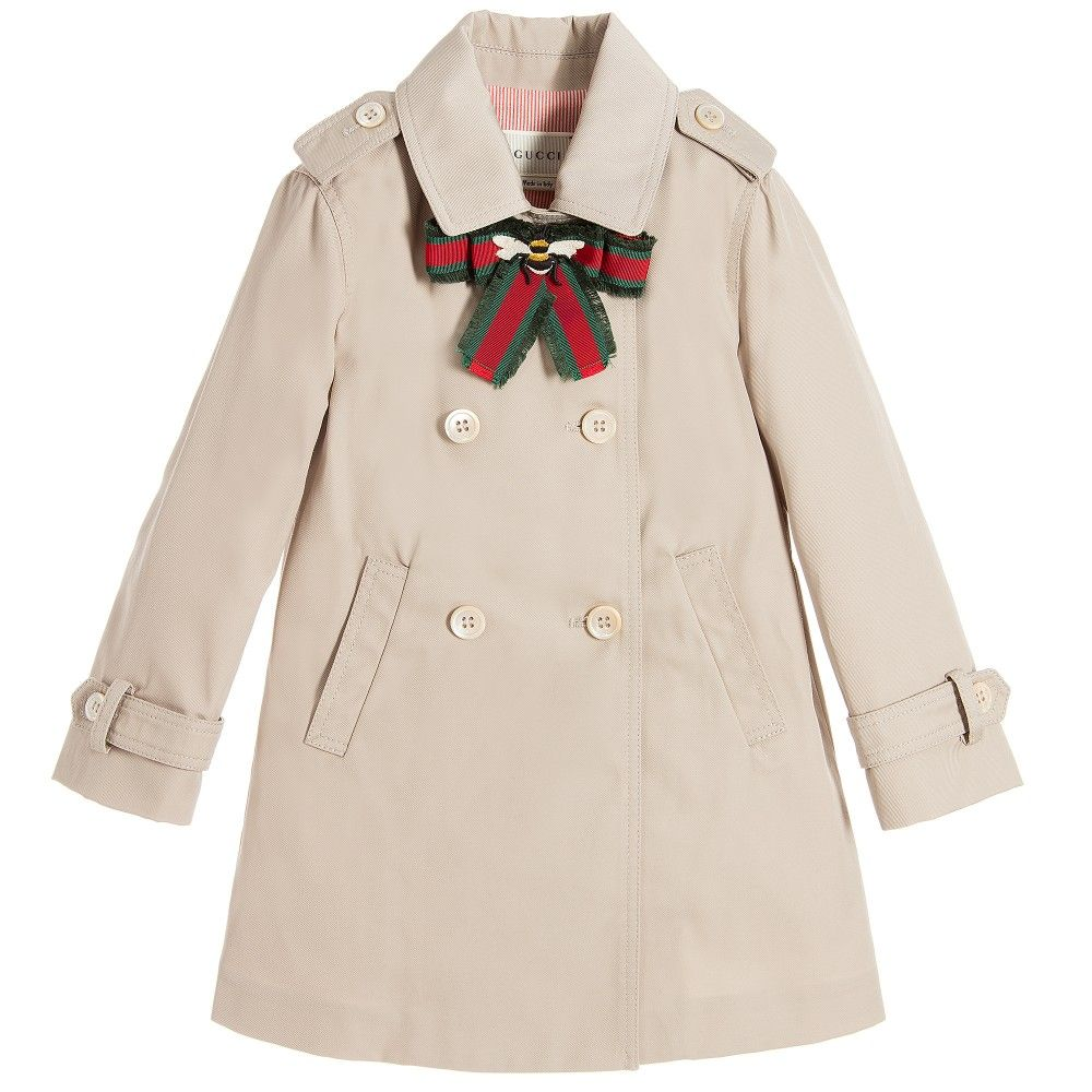 c54fce72e Baby Girls Beige Trench Coat