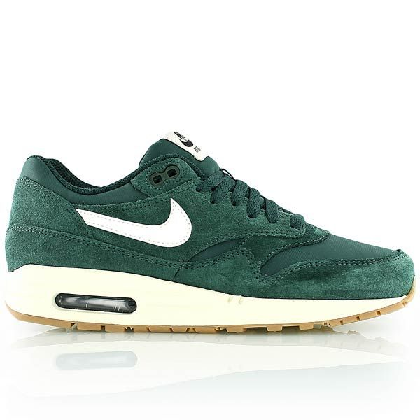 Nike Air Max 1 Essential Gruen Avec Images Chaussures Pour Hommes Chaussure Fimo