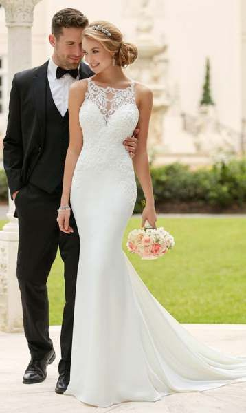 Meerjungfrau Brautkleid: Das 50 sind die schönsten #civilweddingdresses