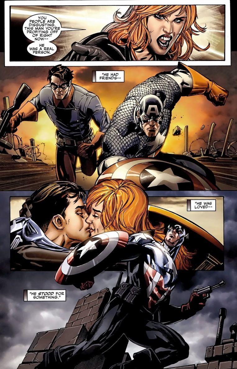 Black Widow and Bucky
