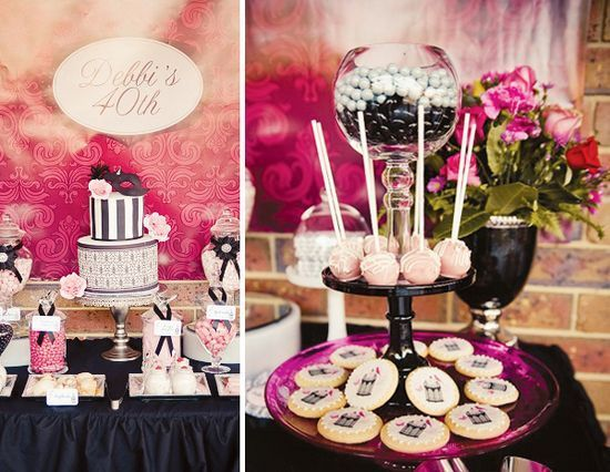 40th Birthday Party Ideas For Men And Women party themes