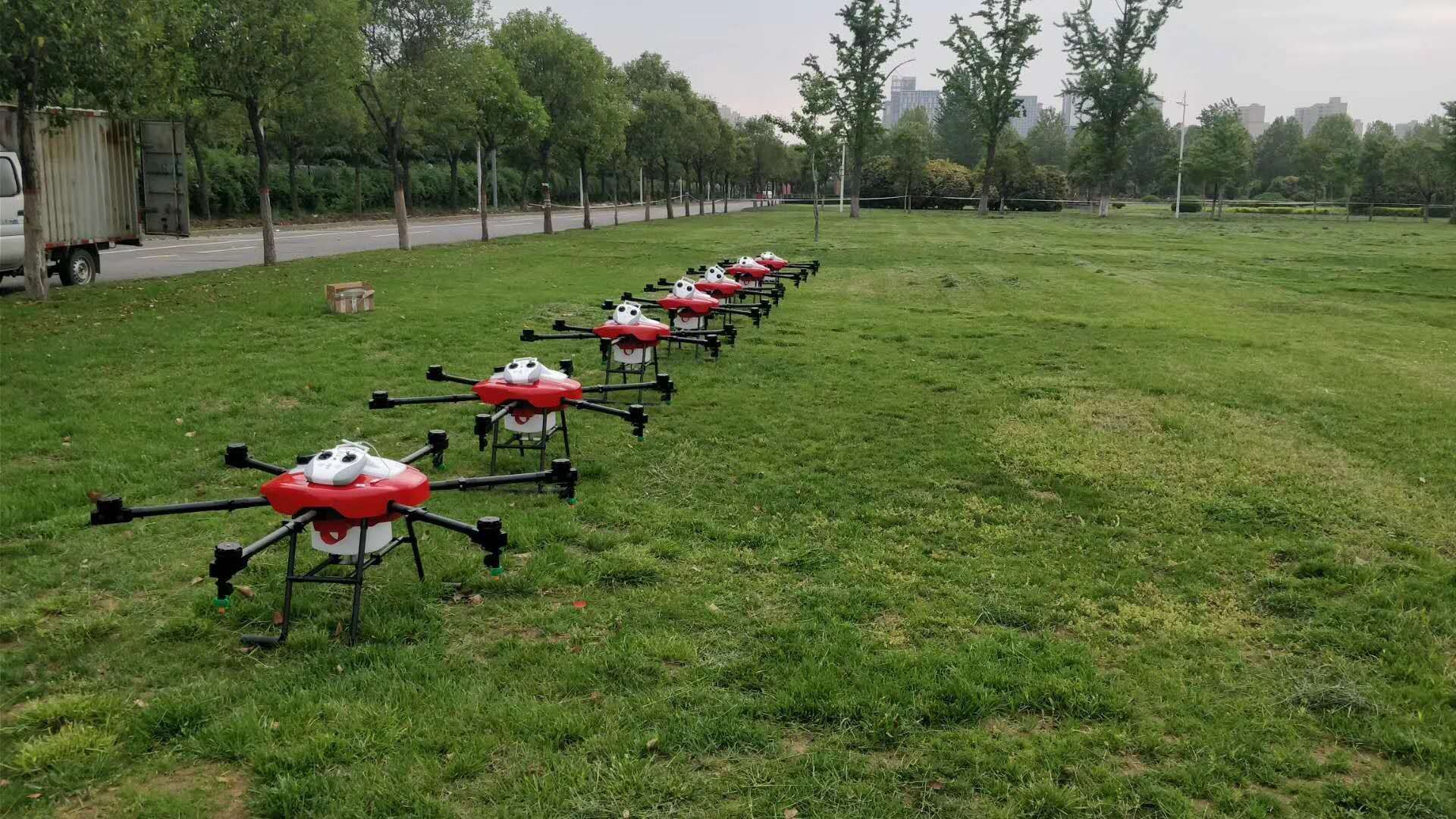 Agriculture spraying drones are more popular with