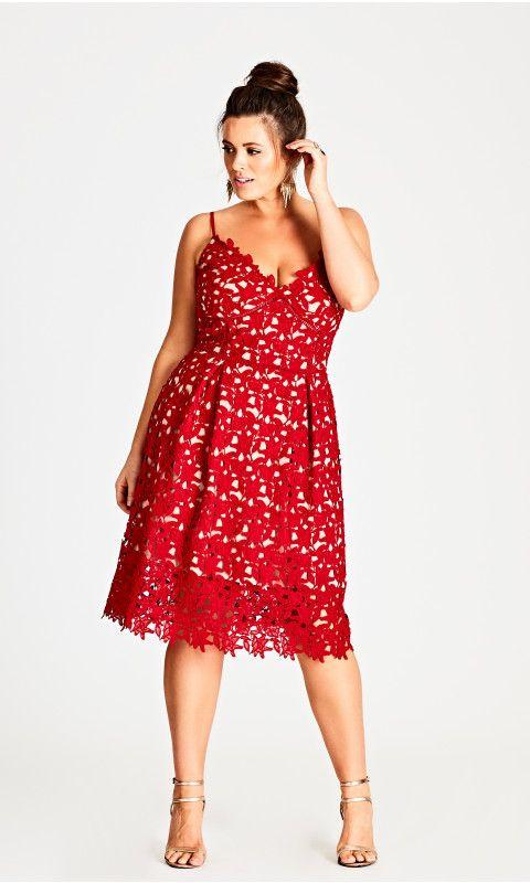 City Chic Womens Apparel Womens Plus Size Dress So Fancy