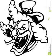 Image result for demonic clown face drawings | Evil clowns ...